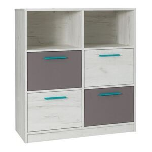 FURNITOP Chest of Drawers 4SZ REST R04