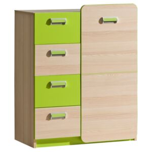 FURNITOP Chest of Drawers 1D4SZ LORENTO LR6