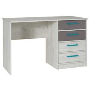 FURNITOP Desk with Drawers REST R06