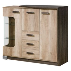 FURNITOP Chest of Drawers 2D 4SZ ROMERO RM7P