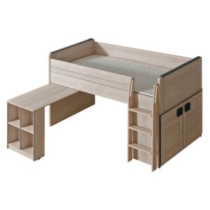 FURNITOP Bunk Bed with Desk GUMI GM15