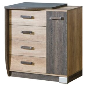 FURNITOP Chest of Drawers 1D4SZ ROMERO RM14L