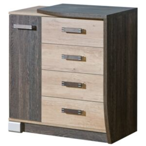 FURNITOP Chest of Drawers 1D4SZ ROMERO RM14P