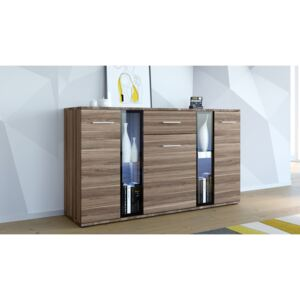 FURNITOP Chest of Drawers FIESTA plum