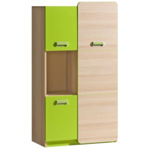 FURNITOP Chest of Drawers 3D LORENTO LR5