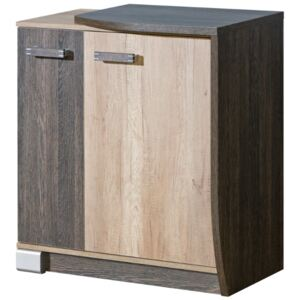 FURNITOP Chest of Drawers 2D ROMERO RM16L