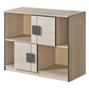 FURNITOP Chest of Drawers 2D GUMI GM17