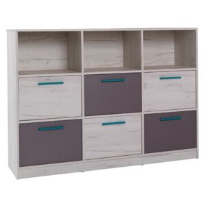 FURNITOP Chest of Drawers 6SZ REST R13