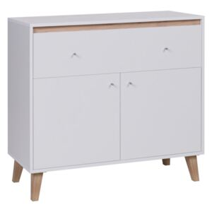 FURNITOP BJ5 Contemporary chest of drawers 2D1SZ BJORN