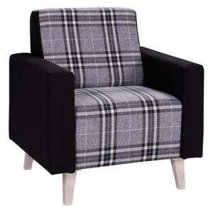FURNITOP Upholstered Armchair MEMONE bright