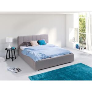FURNITOP Bed with Bedding Container MONTANA