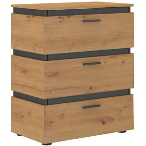 FURNITOP Chest of Drawers 3S FARO