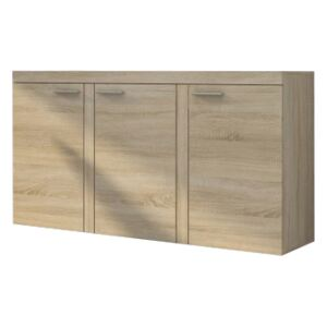FURNITOP Chest of Drawers RUMBA/RODOS 3D sonoma/sonoma