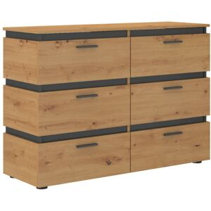 FURNITOP Chest of Drawers 6S FARO