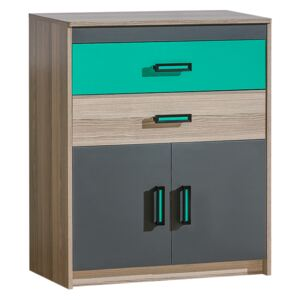 FURNITOP U6 Chest of Drawers 2D2SZ TIMO
