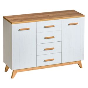 FURNITOP SV9 Chest of Drawers 2D4SZ LYKKE