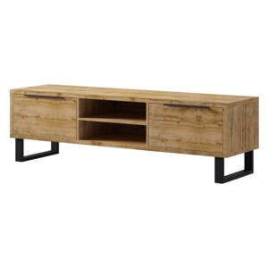 FURNITOP Large Chest of Drawers RTV 2SZ HL40 HALLE Wotan Oak