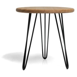 FURNITOP Wooden Table ROUND M
