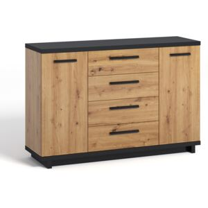 FURNITOP Chest Of Drawers 2D4SZ IN3 INES
