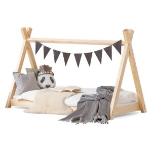 FURNITOP Wooden bed TIPI