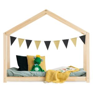 FURNITOP Wooden bed FROG