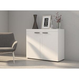 FURNITOP Chest of Drawers RUMBA/RODOS 2D White