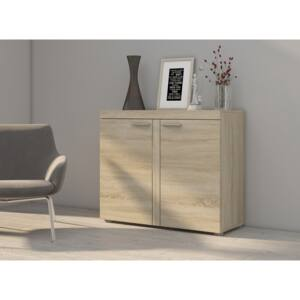 FURNITOP Chest of Drawers RUMBA/RODOS 2D Oak Sonoma
