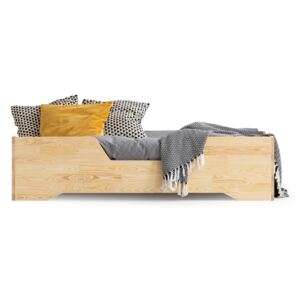 FURNITOP Wooden bed LUIS