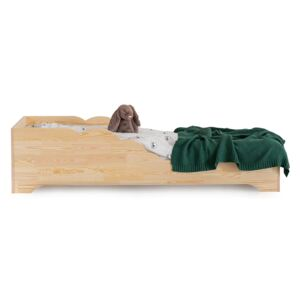 FURNITOP Wooden bed HOMIE
