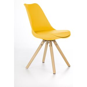 FURNITOP Dining chair K201 yellow