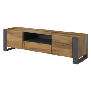 FURNITOP TV Stand WOOD
