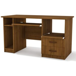 FURNITOP Desk MAX with Drawers light nut - SALE