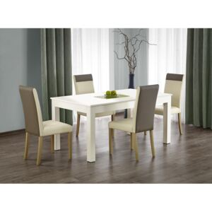 FURNITOP Extendable dining table SEWERYN 160x90 white