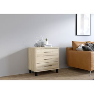 FURNITOP Chest of Drawers ROMA sonoma