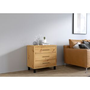 FURNITOP Chest of Drawers ROMA artisan oak