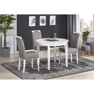 FURNITOP Extendable dining table SORBUS white