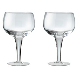 China By Set Of 2 Gin Glasses