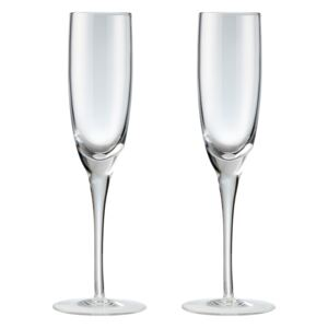 China By Set Of 2 Champagne Flutes
