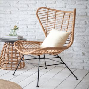 Hampstead Winged Back Bamboo Chair