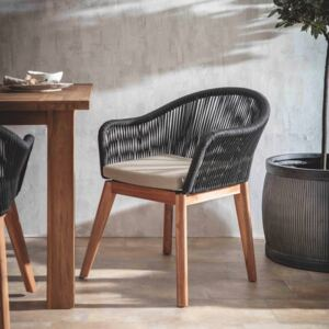 Pair of Luccombe Garden Dinning Chairs