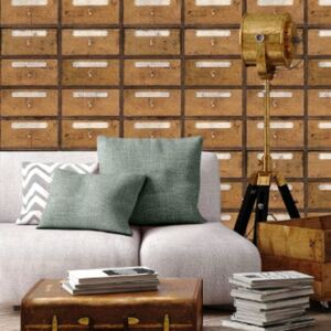Vintage Pharmacy Wallpaper by Mind The Gap