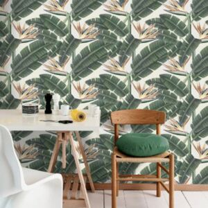 Tropical Bloom Wallpaper by Mind The Gap