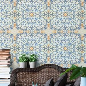 Spanish Tile Wallpaper by Mind The Gap