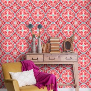 Rufous Tile Wallpaper by Mind The Gap
