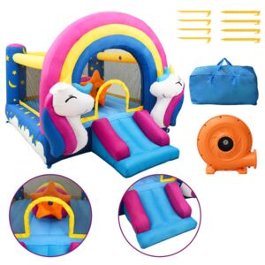 Happy Hop Inflatable Bouncer with Slide 335x265x215 cm PVC