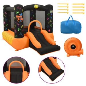 Happy Hop Inflatable Bouncer with Slide 210x280x170 cm PVC