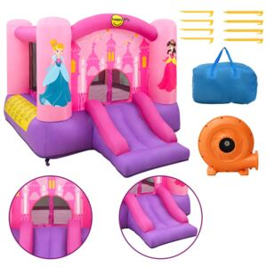 Happy Hop Inflatable Bouncer with Slide 300x225x175 cm PVC