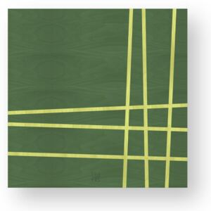 LINES TWO INLAYED WOOD WALL PANEL - Colours