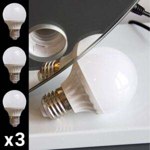 Hollywood Mirror Bulbs, Set of 3 Replacements