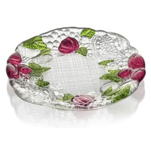 A NIGHT IN PALMIRA PLATE 19CM - Red-Green